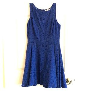 BB Dakota Cobalt Dress
